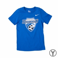 Youth Nike Boston Breakers Crest Tee - Royal