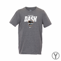 Youth Nike Houston Dash Bold Tee - Grey