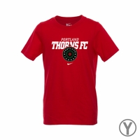 Youth Nike Portland Thorns FC Bold Tee - Red