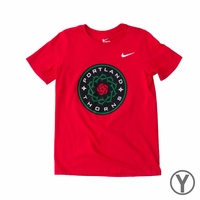 Youth Nike Portland Thorns FC Crest Tee - Red