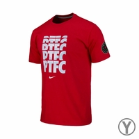 Youth Portland Thorns FC Chevron Crew Tee - Red