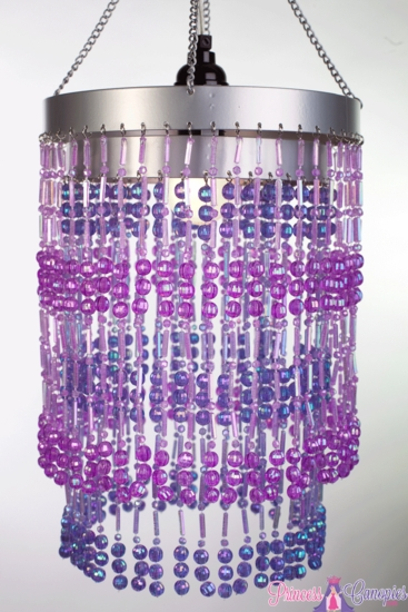 Purple hanging beaded lamp sparkly purple chandelier beaded chandelier ashley 2 tier hanging lamp purple mozeypictures Images