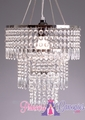 "Chandelier Shabby Chic ""Victoria""  - Celebrity Wedding!"