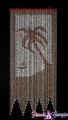 Palm Tree Real Shell Beaded Curtain