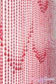 Coming Soon - Raindrops Red Iridescent Beaded Curtain