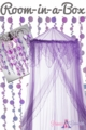 "Room in a Box - ""Evangeline"" Purple - 3pcs"