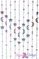 Coming Soon - Stars & Moons Mardi Gras Celestial Beaded Curtain