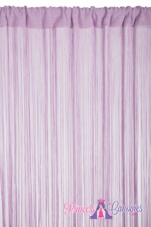 String Curtain Lavender  - 18 Strings Per Inch! - 36
