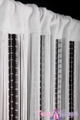 "String & Sparkling Bead Mix Curtain 36"" x 88"" - White"