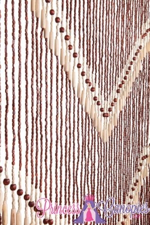 Wooden Bead Curtain - Kenya -  35.5