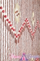 "Coming Soon - Wooden Bead Curtain - Shanghai - 35.5"" x 77"" - 52 Strands"
