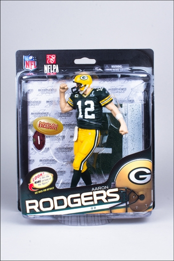 Aaron Rodgers (Green Bay Packers) NFL 34 McFarlane Collectors Club Exclusive 5def92cbe