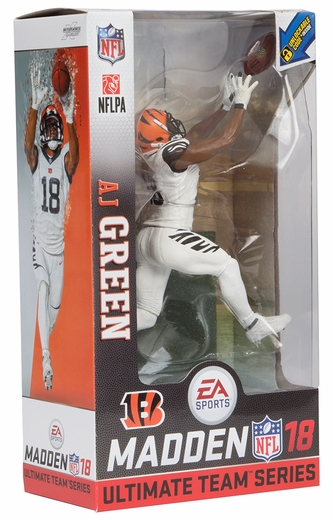 AJ Green (Cincinnati Bengals) EA Sports Madden NFL 18 Ultimate Team Series 1 McFarlane