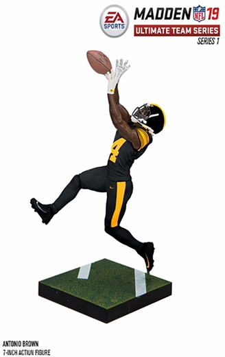 Antonio Brown (Pittsburgh Steelers) EA Sports Madden NFL 19 Ultimate Team Series 1 McFarlane
