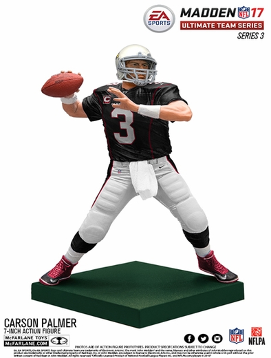 Carson Palmer (Arizona Cardinals) EA Sports Madden NFL 17 Ultimate Team Series 3 McFarlane