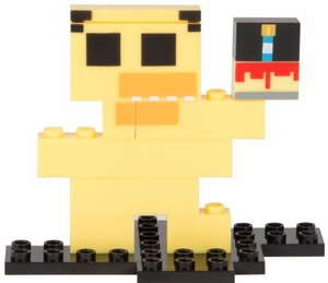 Chica (Five Nights at Freddy's) Series 1 8-Bit Buildable Figure
