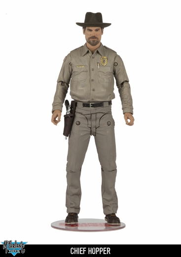 "Chief Hopper (Stranger Things) McFarlane 7"" Action Figure"