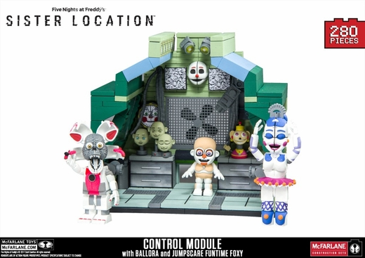 Control Module (Five Nights At Freddy's) Large Set McFarlane Construction Set