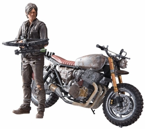 Daryl Dixon with Motorbike (The Walking Dead TV Series) Deluxe Box Set McFarlane
