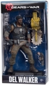 "Del Walker (Gears of War 4) 7"" Figure McFarlane Color Tops Series - Blue"