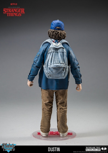 "Dustin (Stranger Things) McFarlane 7"" Action Figure"