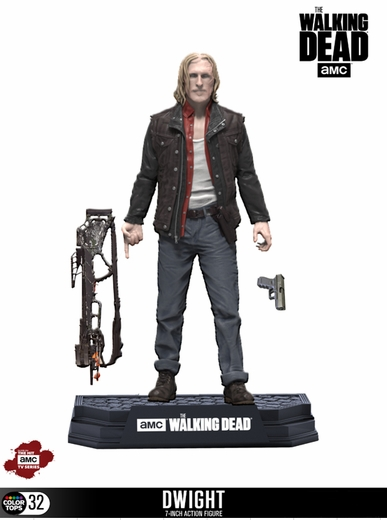 "Dwight (The Walking Dead TV) McFarlane 7"" Action Figure"