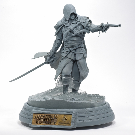 Edward Kenway Assassin's Creed Resin Statue (Unpainted Artist's Proof)