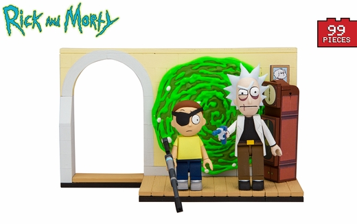 Evil Rick And Morty (Rick and Morty) Small Set McFarlane Construction Set