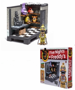 Five Nights at Freddy's Series 1 McFarlane Backstage Set