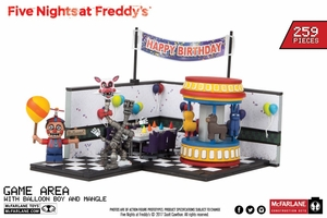 Game Area w/ Balloon Boy and Mangle (Five Nights At Freddy's) Large Set McFarlane Construction Set