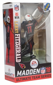 Larry Fitzgerald (Arizona Cardinals) EA Sports Madden NFL 18 Ultimate Team Series 1 McFarlane