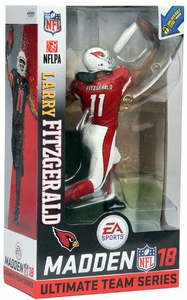 Larry Fitzgerald (Arizona Cardinals - Red/White Uniform) EA Sports Madden NFL 18 Ultimate Team Series 1 McFarlane CHASE