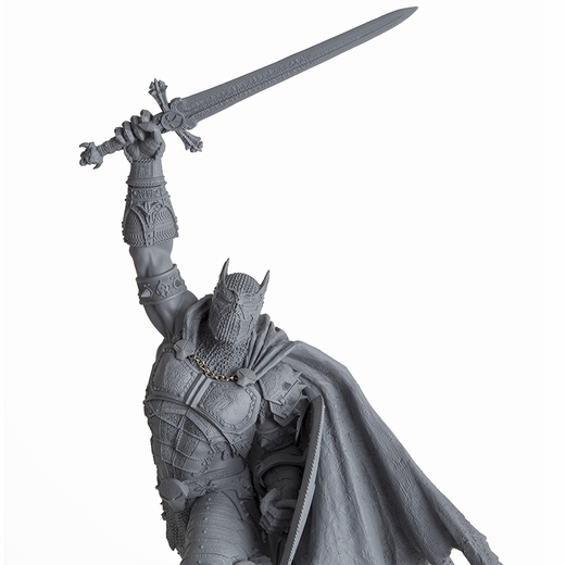 Medieval Spawn (Unpainted Artist Proof) Resin Statue McFarlane Collectors Club Exclusive