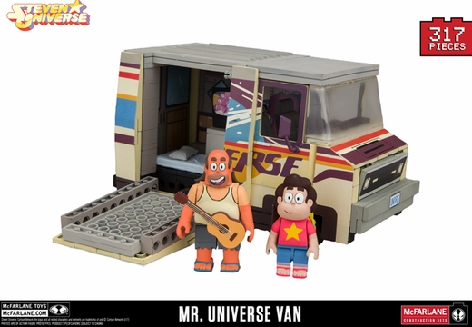 Mr. Universe Van (Steven Universe) Large Set McFarlane Construction Set