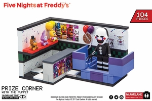 Prize Corner w/ The Puppet (Five Nights At Freddy's) Small Set McFarlane Construction Set Series 2