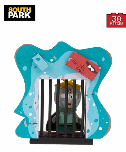 """Professor Chaos"" Butters With Holding Cell (South Park) Micro Set McFarlane Construction Set"