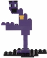 Purple Guy (Five Nights at Freddy's) Series 1 8-Bit Buildable Figure