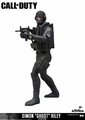 "Simon ""Ghost"" Riley (Call Of Duty) Action Figure McFarlane Toys"