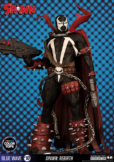 "Spawn 7"" Figure McFarlane Collector Edition Color Tops Series - Blue"
