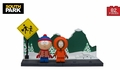 Stan and Kenny With The Bus Stop (South Park) Small Set McFarlane Construction Set