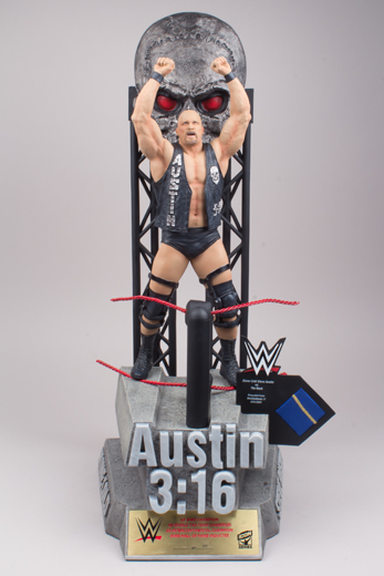 Stone Cold Steve Austin WWE Icon Series Resin Statue McFarlane (Hand-Signed by Steve Austin)
