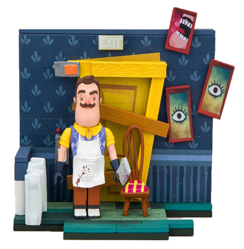 The Basement Door (Hello Neighbor) Small McFarlane Construction Set