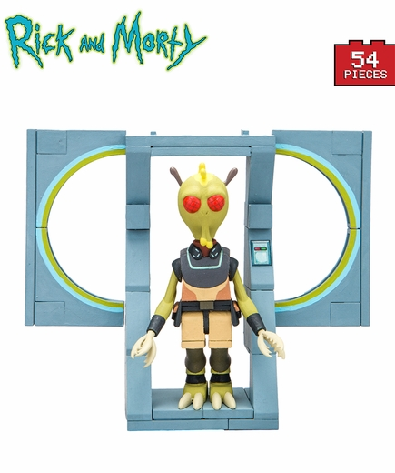 The Discreet Assassin (Rick and Morty) Micro Set McFarlane Construction Set