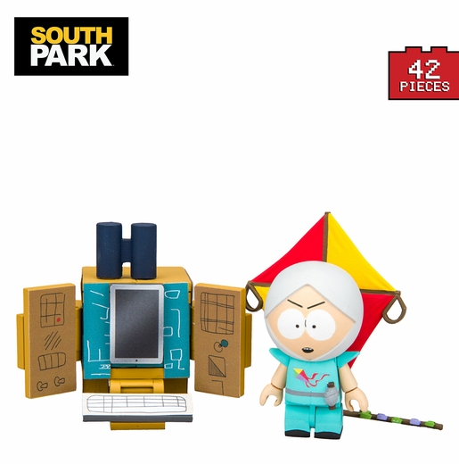 """The Human Kite"" Kyle With Supercomputer (South Park) Micro Set McFarlane Construction Set"