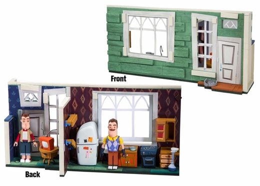 The Neighbor's House (Hello Neighbor) Large McFarlane Construction Set