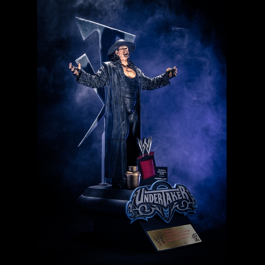 The Undertaker WWE Icon Series Resin Statue McFarlane Collectors Club Exclusive