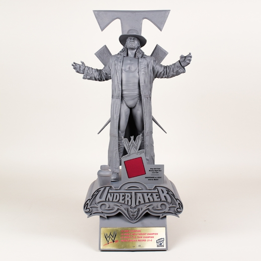The Undertaker WWE Icon Series Resin Statue (Unpainted Artist's Proof)