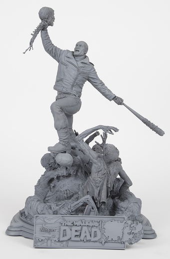 The Walking Dead Comic: Negan Resin Statue (Unpainted Artist's Proof)