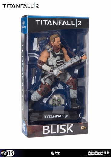 Titanfall 2 Blisk McFarlane Collector Edition Color Tops Series - Blue