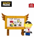 """Toolshed"" Stan With Top Bad Guys Board (South Park) Micro Set McFarlane Construction Set"